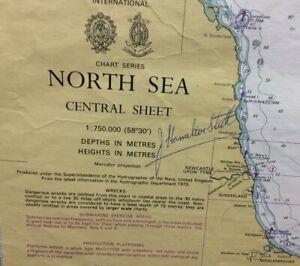 ADMIRALTY SEA CHART. No.2182B. THE NORTH SEA, CENTRAL SHEET. 1973
