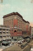 Postcard Market Street Philadelphia Pennsylvania