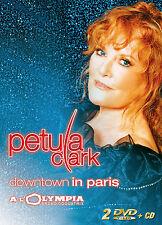 PETULA CLARK - 2 DVD + 1 CD - DOWNTOWN IN PARIS - LIVE A L OLYMPIA