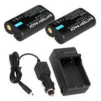 Lot2 KLIC-8000 Battery for KODAK EasyShare Z1085 Z1485 Z612 Z712 IS + Charger
