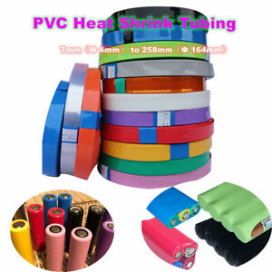 PVC Heat Shrink Tubing Multiple Colors / Lengths Choose for Wrap RC Battery Pack