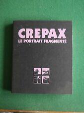Le portrait fragmenté par Guido Crepax / Editions Aedena, tirage limité à 350 ex