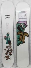 New 2019 Technine Cam Rock x Jah Life Snowboard 146 cm White Camrock