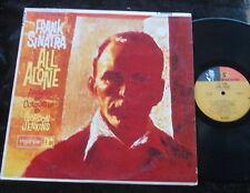 FRANK SINATRA All Alone LP USA Early Pressing