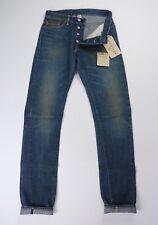 RRL Mens NWT Slim Fit Selvedge Denim Blue Jeans 27 28 X 34 $300 NWT USA
