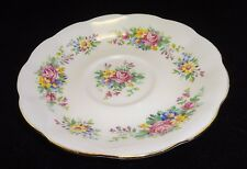 Royal Albert  Saucer only Colorful Floral Bouquet Pattern Bone China England