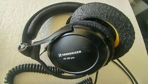Sennheiser HD 380 PRO professional monitoring headphone Carrying case included