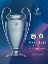 More details for 2021 champions league final - manchester city v chelsea + poster