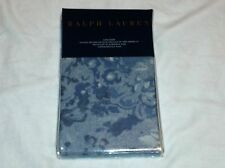 Ralph Lauren King Pillow Sham - Indigo Montauk Floral Blue