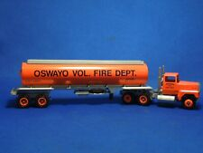 Winross Oswayo Volunteer Fire Department Tanker Truck Die Cast Model