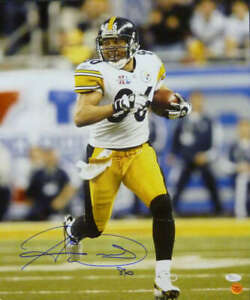 Hines Ward Autographed/Signed Pittsburgh Steelers 16x20 Photo JSA 13708