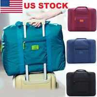 U.S Foldable Travel Storage Luggage Carry-on Organizer Hand Shoulder Duffle Bag
