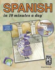 SPANISH in 10 minutes a day® with CD-ROM by Kristine K. Kershul
