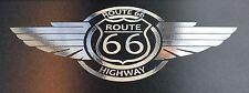 Route 66 US Sticker Vintage Retro Auto Aufkleber Biker Camper Truck Groß 55x23cm