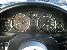Se adapta a Mazda MX5 MX-5 MK1 89-97 na Cromo Pulido Aleación Dial Anillos recorte rodea