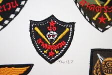 THAI THAILAND NAVY SEALS SPECIAL FORCES CLOTH  PATCH BADGE TW#127