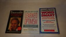 Lot of 3 Audio Book, Optimism and Vocabulary learning on Cassette Tapes