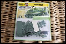 Airfix StuG III Assault Gun German Tank WWII - 1/72 - Plastic Model Kit Vintage