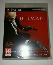 HITMAN ABSOLUTION ps3 Nuovo Sigillato UK Pal Versione Game SONY Playstation 3