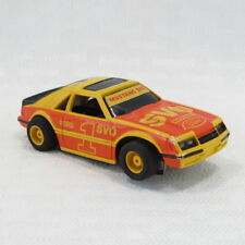 #1 FORD MUSTANG SVO - VINTAGE TYCO HO SLOT CAR - EX - LIGHTED