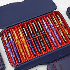 Esterbrook Twelve Pen Nook Case in Navy - Vegan Leather - pens not included