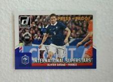 Cartes de football Panini sur l'équipe de France