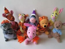 McDonalds Happy Meal 2000 Winnie the Pooh The Tigger Movie 8 x Mini Soft Toys