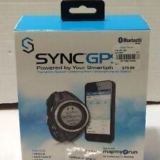 Sportline SYNC GPS Men's Pedometer, Black NEW - SP3010BK