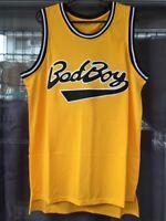 Biggie Smalls Jersey Bad Boy Notorious Big Yellow Basketball Jersey -4dayship