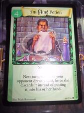 HARRY POTTER TRADING CARD GAME TCG UNCO SNUFFLING POTION 66/116 ENGLISH MINT