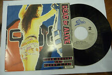 "DEAD OR ALIVE""TURN AROUND-disco 45 giri EPIC HOll. 1988""NEW WAVE/SEXY COVER"""