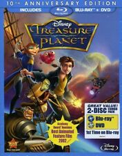 Treasure Planet: 10th Anniversary Edition [New Blu-ray] With DVD, Anni