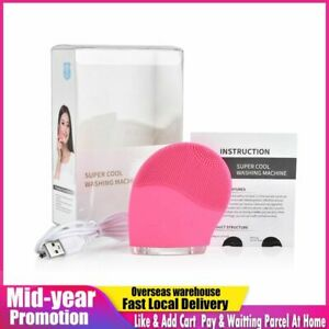 Electric Facial Cleaning Brush Cleanser Massage Skin Face Care Mini Washing Mach