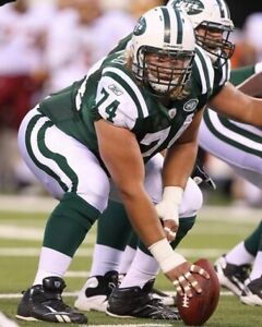 NICK MANGOLD 8X10 PHOTO NEW YORK JETS NY PICTURE NFL FOOTBALL