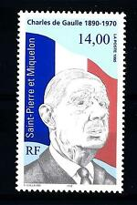 ST. PIERRE E MIQUELON - 1995 - 25° anniversario della morte del Gen. De Gaulle