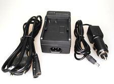Ladegerät  für CANON EOS D10 20D 40D 50D 300D G5 BP-511 BP-522 Charger KFZ Auto