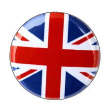 "BRITISH FLAG - Button Pinback Badge 1"" UK United Kingdom"