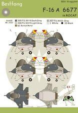 Bestfong Decal EGGPLANE (Egg Plane) F-16A 6677 in R.O.C. (Taiwan) AF