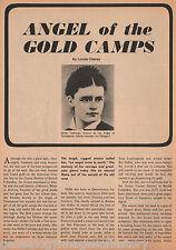 Gold Camp Angel Nellis Cashman of Tombstone, AZ+ Clum, Darley, Gage, Jouvenceau,