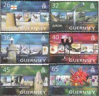 GB-Guernsey 1001-1006 (kompl.Ausg.) postfrisch 2004 Tourismus