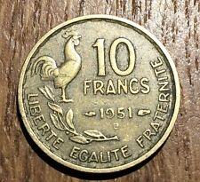 PIECE DE 10 FRANCS GUIRAUD 1951 B (156)