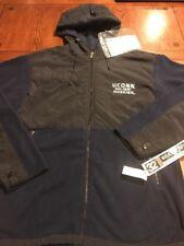 32 Degrees Weatherproof Navy University Of Connecticut Huskies Yukon Jacket (M2)