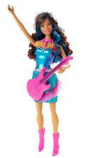 Barbie Toy  Rock 'N Royals  Erika Fashion Doll Princess Rockstar with free gift.