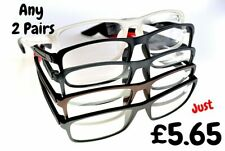 2 x  Pairs Myopia Near Short Sighted Distance Glasses (NOT FOR READING)  NT125
