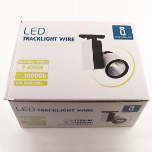1x LED Tracklight Wire Strahler Leuchte Schienenlicht 4000K Weiß 33W