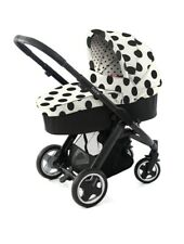 Baby Style Oyster Vogue Carrycot Colour Pack Dalmatian Spot Black And White