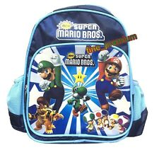Super Mario Bros Luigi Yoshi Mini School Backpack Rucksack Bag