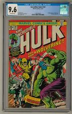 Incredible Hulk #181 CGC 9.6 (OW-W) 1st Full Wolverine