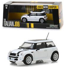 2003 Mini Cooper Weiß The Italian Job 1:43 GreenLight 86548