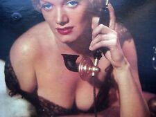 introducing MISS VICKI BENÊT Woman of Paris LP Decca mono DL 8233 cleavage